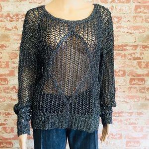 Buffalo Pink Light Loose Knit Sweater